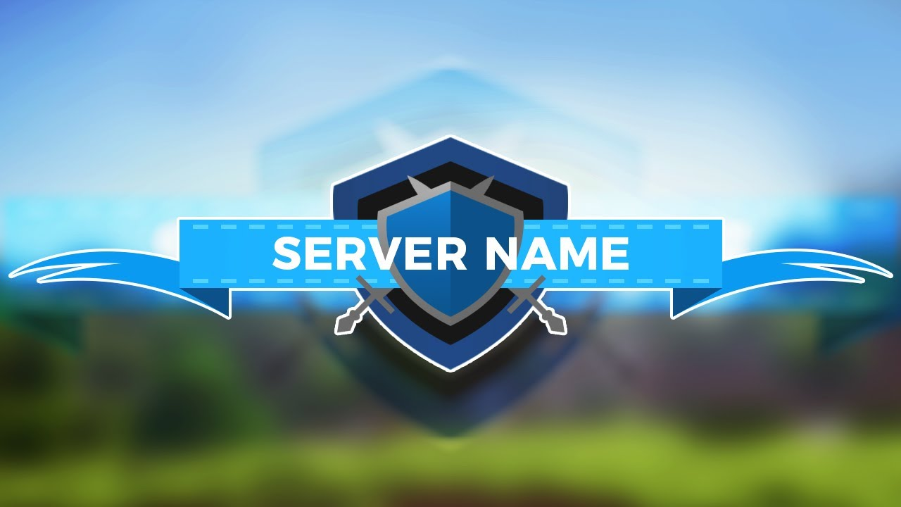 Minecraft Server Logo Template - \