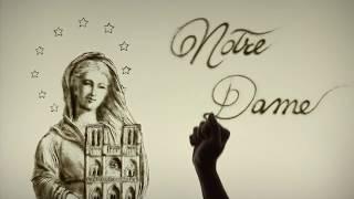DISEGNI CON LA SABBIA | Notre Dame de Paris | SAND ART