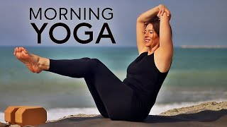 Morning Yoga (45 Minute) Total Body Flow