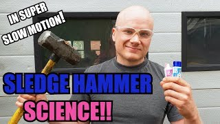 Toothpaste Vs. Hammer and other methods of extremely fast extrusion...