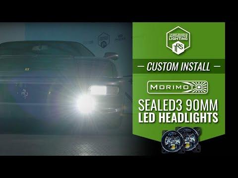 Morimoto Sealed3 90mm Headlights For Custom Installs