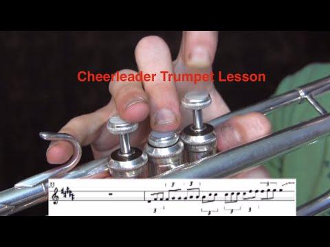 OMI Cheerleader-Trumpet Lesson - YouTube