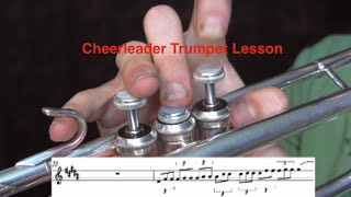 OMI Cheerleader-Trumpet Lesson