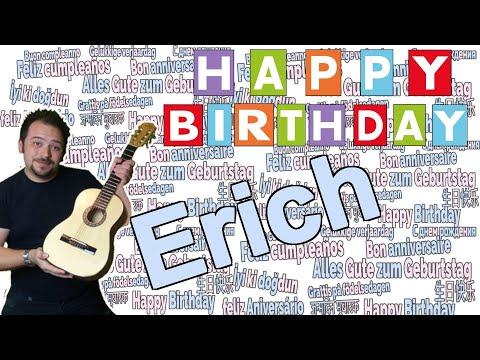 ❤️-geburtstagslied-für-erich--happy-birthday-erich--erich's-geburtstagssong