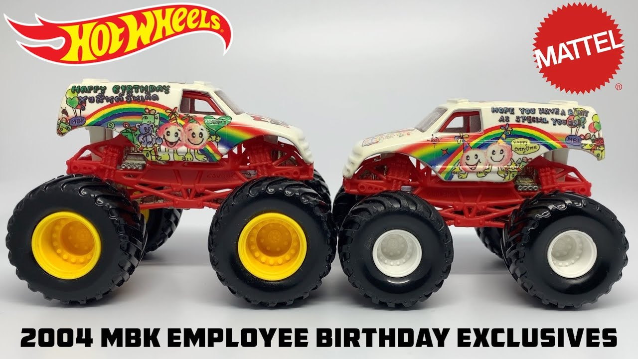 The Rarest Hot Wheels Monster Truck Ever Taxi 3 Cwue Youtube