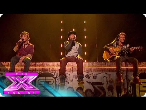 Emblem3 Takes on the Beatles  THE X FACTOR USA 2012