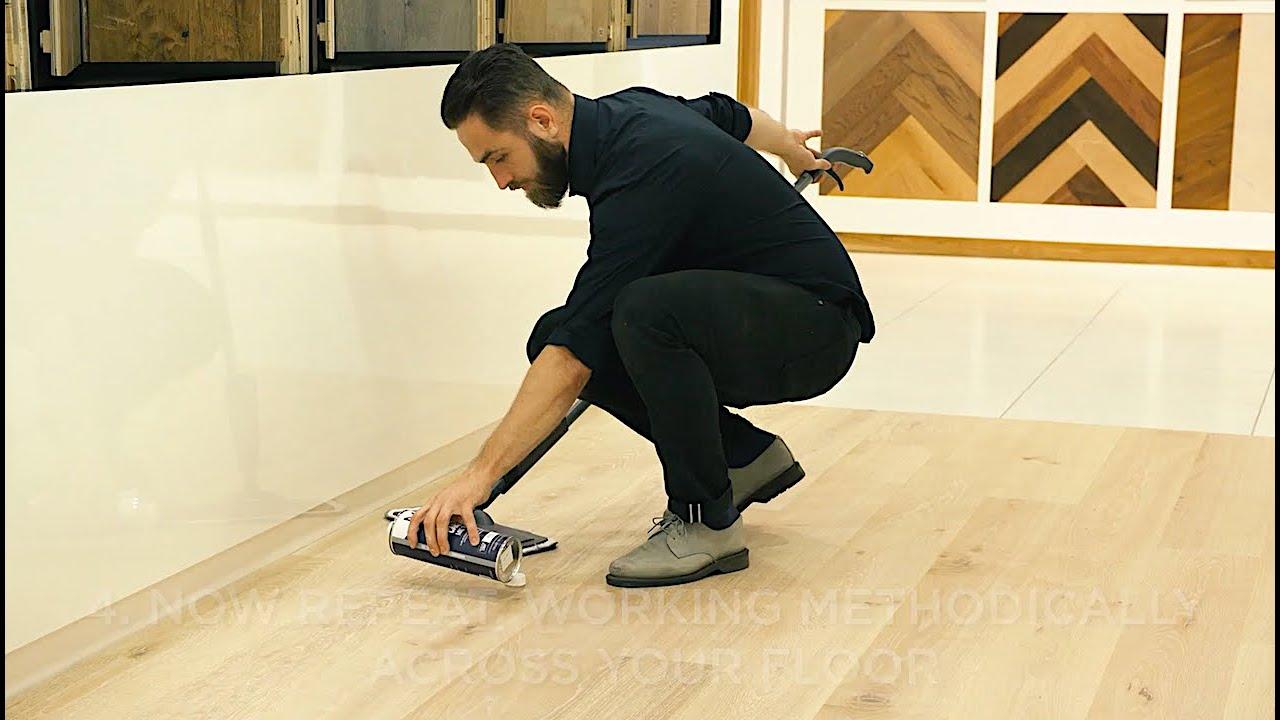 Maintenance For Uv Oiled Floors