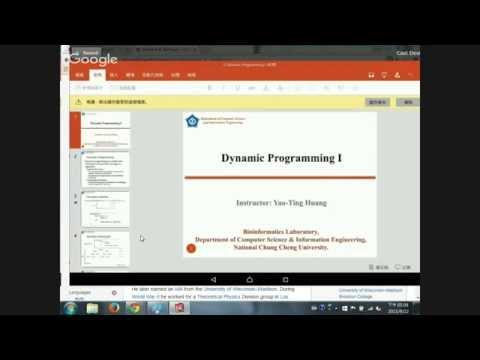 20150922 Computer Algorithms-Dynamic Programming #3