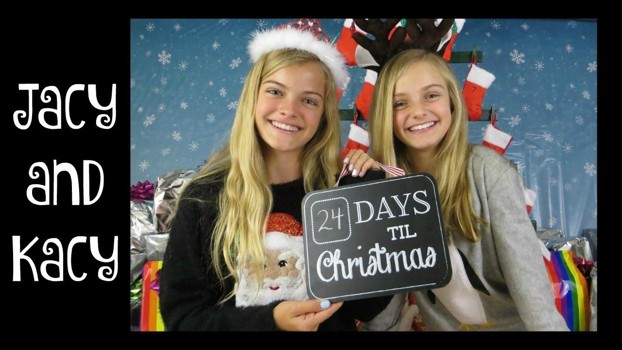 countdown to christmas 2015 day 1 jacy and kacy youtube - Countdown To Christmas 2015