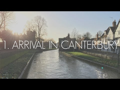 1. Arrival In Canterbury, UK | LEX IN THE CITY