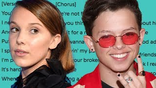 Jacob Sartorius SHADES Millie Bobby Brown In New Song