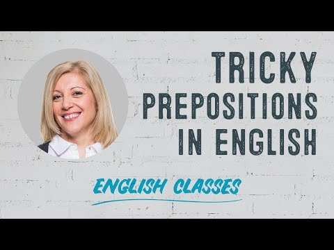How To Use And Understand English Prepositions | ABA English