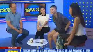 Loisa Andalio & Ronnie Alonte Live at DZMM (Part 2)