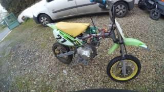 dirt bike electrique maison teste