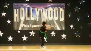 Sidekicks Martial Arts Academy - Student Performs Incredible Taekwondo at School Talent Show!!
