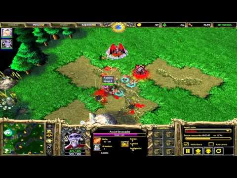 """Warcraft III: Muertos Vivientes """"Nigromantes"""" (estrategia En Tiempo Real)"""