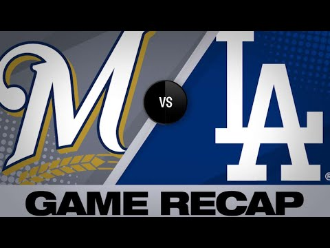Brewers - Dodgers take series finale against Brewers 7-1 on Sunday