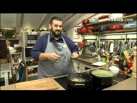 David de jorge cocina bacalao con coles de bruselas youtube for La cocina de david de jorge
