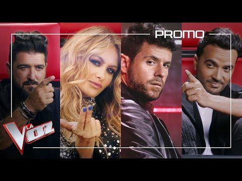 Luis Fonsi, Pablo López, Paulina Rubio y Antonio Orozco te dan la bienvenida a La Voz Antena 3