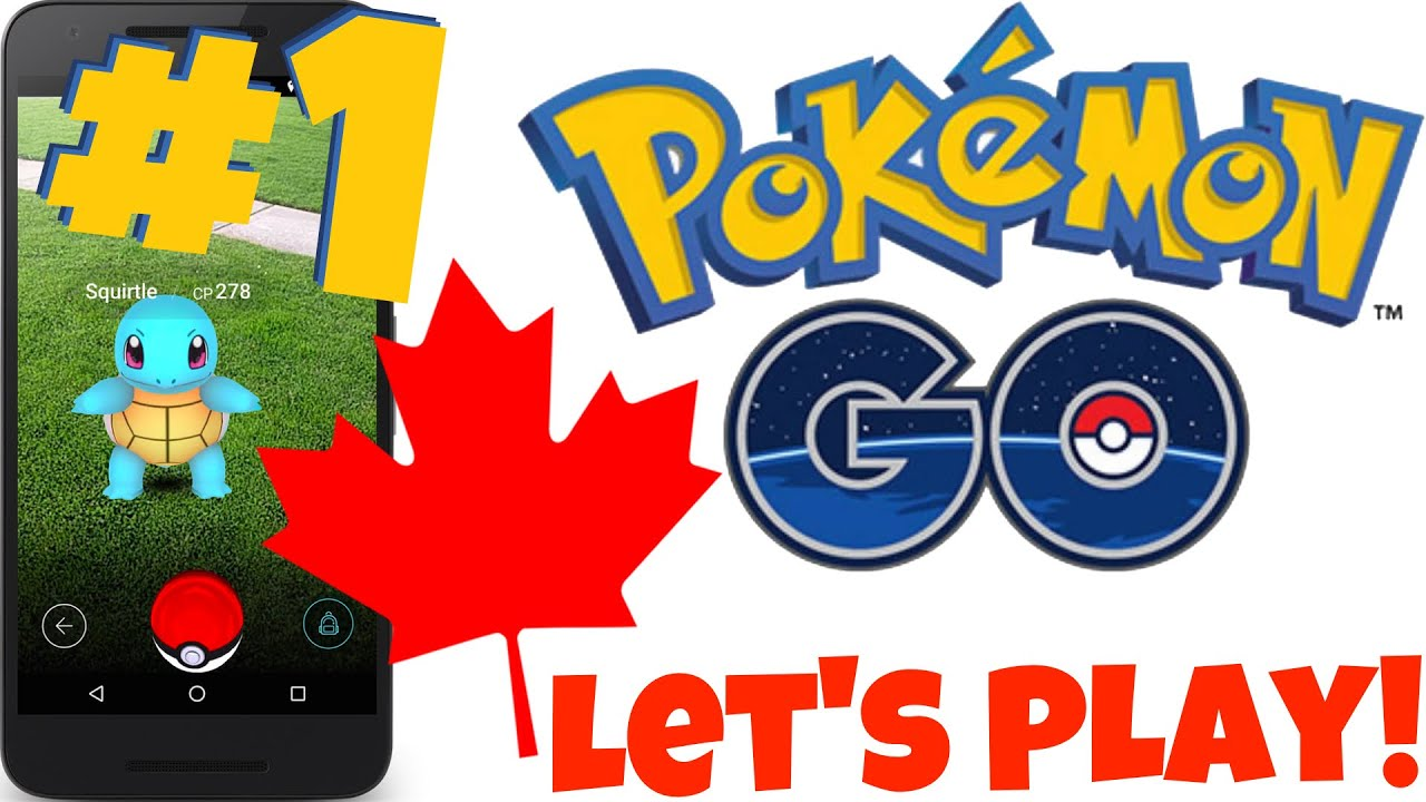 how to play pokemon go in canada