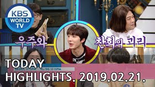 Today Highlights-It's My Life E74/Liver or Die E25-26/Happy Together[2019.02.21]