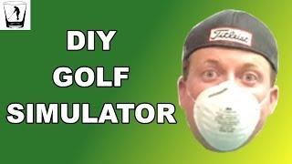DIY Golf Simulator Video