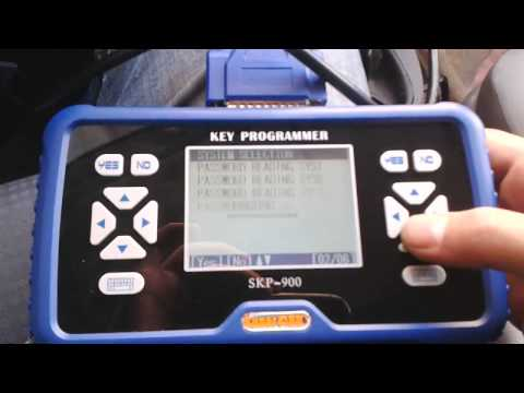 SuperOBD SKP-900 Key Programmer Read Pin Code for 2005  Year VW Caddy