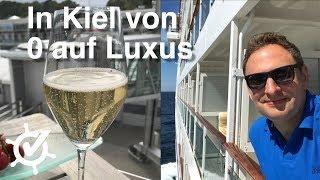 In Kiel von 0 auf Luxus - Vlog #1 - MS Europa (2018), Norwegenkreuzfahrt