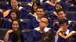 Valedictorian speech, NUS Economics 2016.