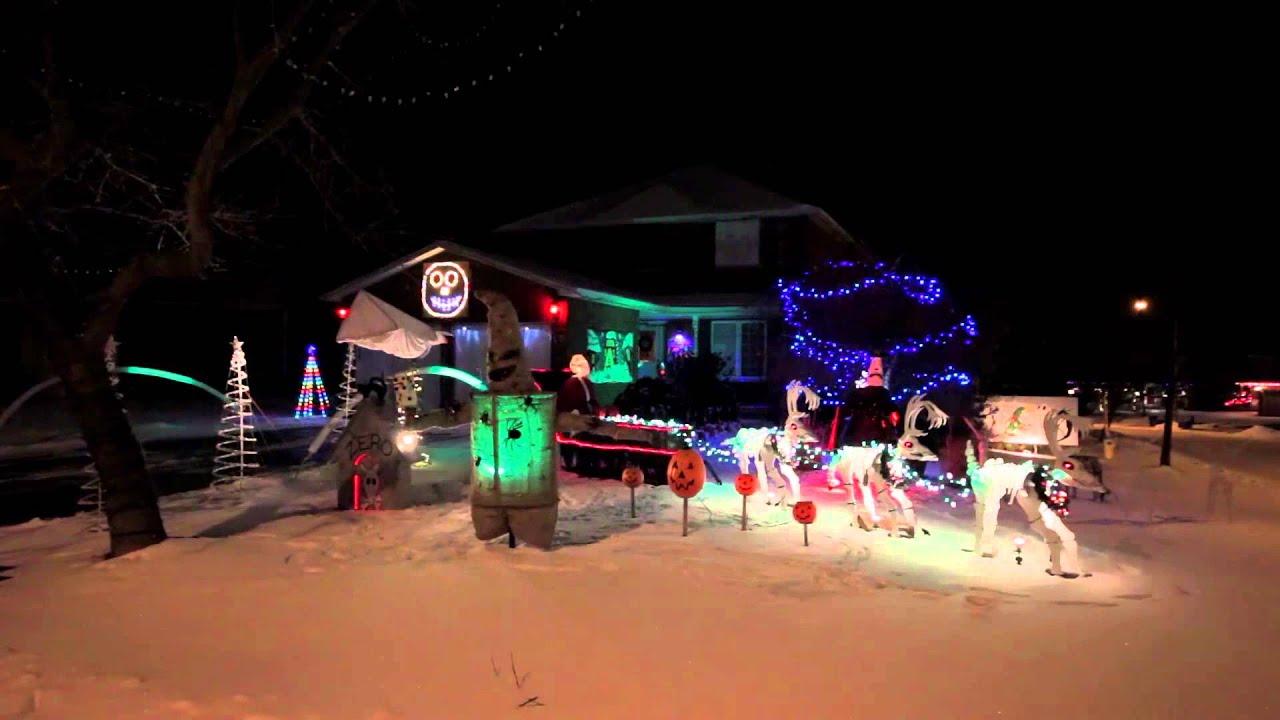 nightmare before christmas light o rama light show whats this - Nightmare Before Christmas Lights