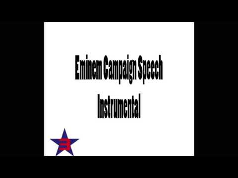 Eminem - Campaign Speech (Instrumental Version) Unofficial Cover