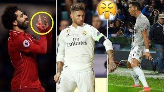 معاني وأسرار لاتعرفها عن أشهر إحتفالات نجوم كرة القدم ● صلاح يسخر من راموس!؟ |ج2