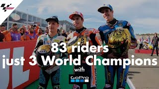 GoPro™: 83 riders, just 3 World Champions