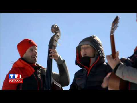 Zaz - Je Veux [on the top of the Mont-Blanc]