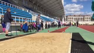 Шебанова Варвара - 2 место (прыжок в длину)