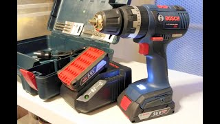 Самый неубиваемый шурик - Bosch gsb 18v-ec (обзор и тест).