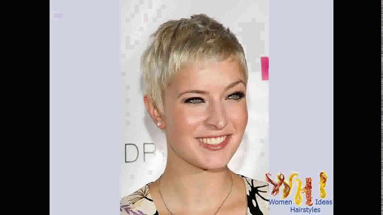Short haircuts for very fine thin hair - YouTube