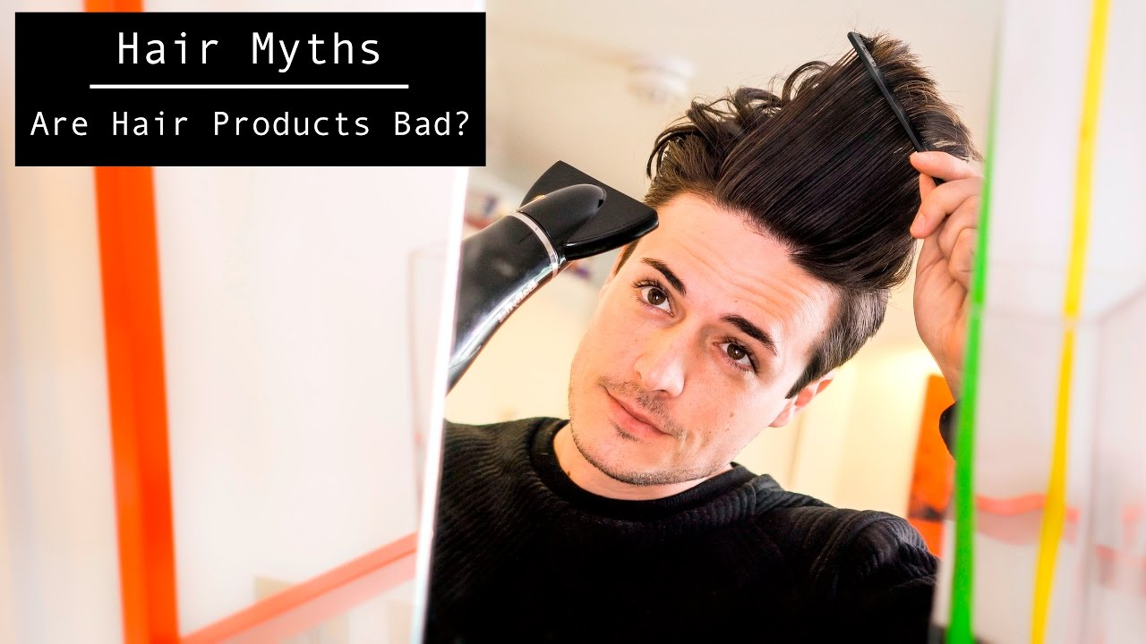 Hair Myths | Are Hair Products Actually BAD For You? | Hairstyle Tips 2017