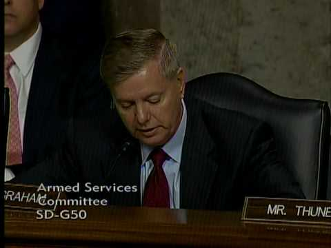 Graham Questions General and Commander of US Forces - Iraq