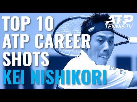 Kei Nishikori: Top 10 Best Shots Of His ATP Career