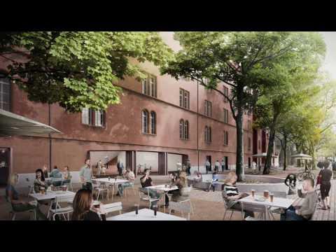 Umbau des Kasernenhauptbaus in Basel