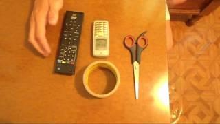 Как быстро найти пульт от телевизора - своими руками