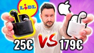 J'ai acheté les AirPods LIDL à 25€ ! (étonnant)