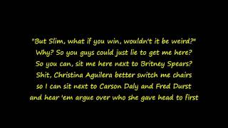 Eminem - The Real Slim Shady W/Lyrics