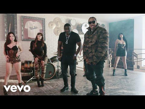 Akon, Shelow Shaq - Con la Guitarra Mia