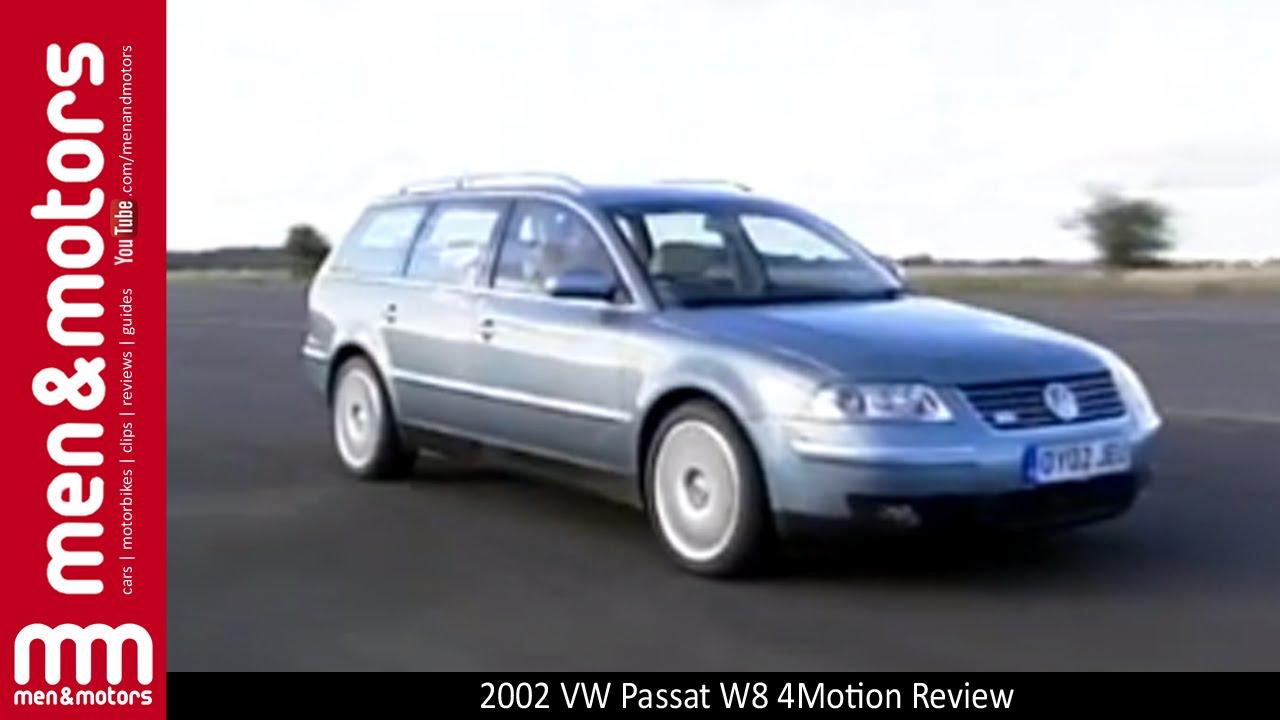2002 volkswagen passat w8 4motion