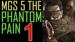 Video Metal Gear Solid 5 The Phantom Pain Walkthrough part 1 - E3 Gameplay Demo on PS4 MGS5 Lets play download MP3, 3GP, MP4, WEBM, AVI, FLV November 2018