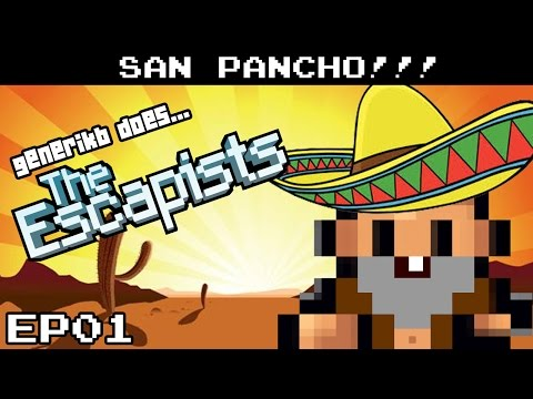 "The Escapists Gameplay S05E01 - ""SO MUCH VIOLENCE!!!"" San Pancho Prison"