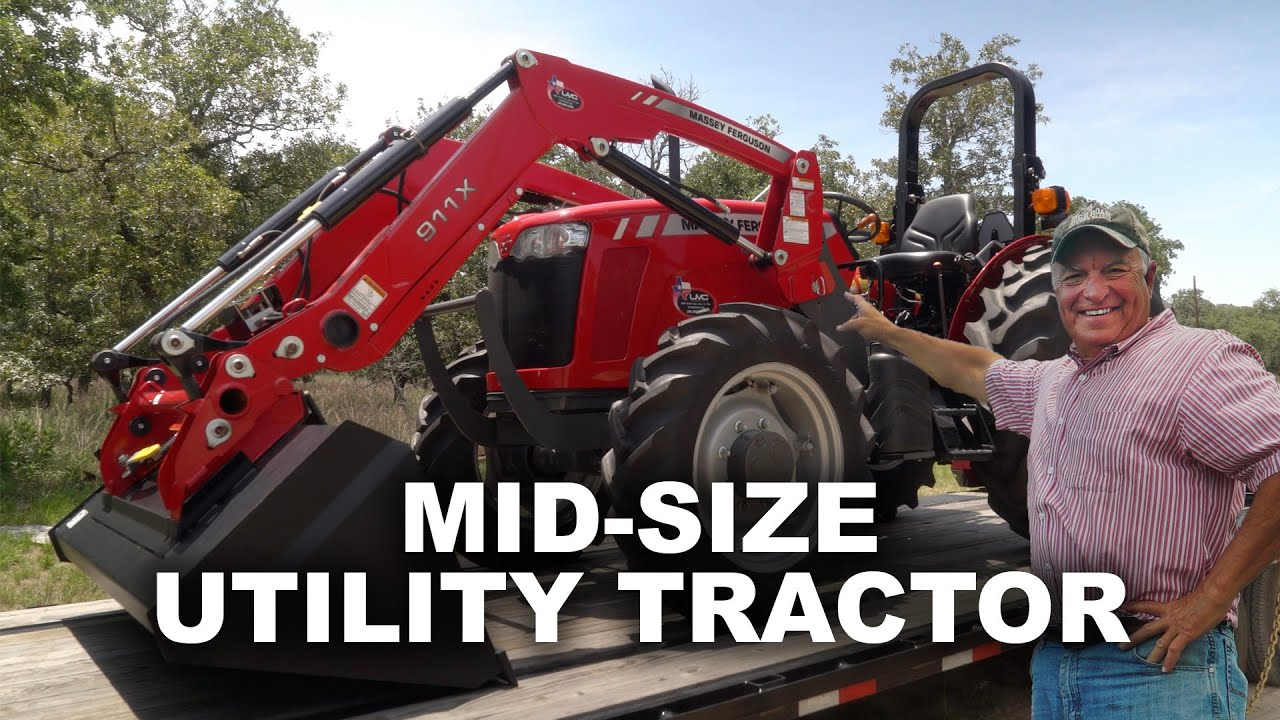 Brand NewMassey Ferguson 2607H Tractor