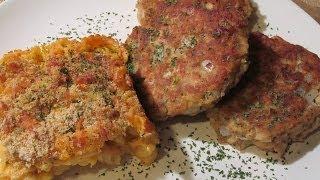 Galui's Tuna Cakes With A Rotini & Cheese Bake